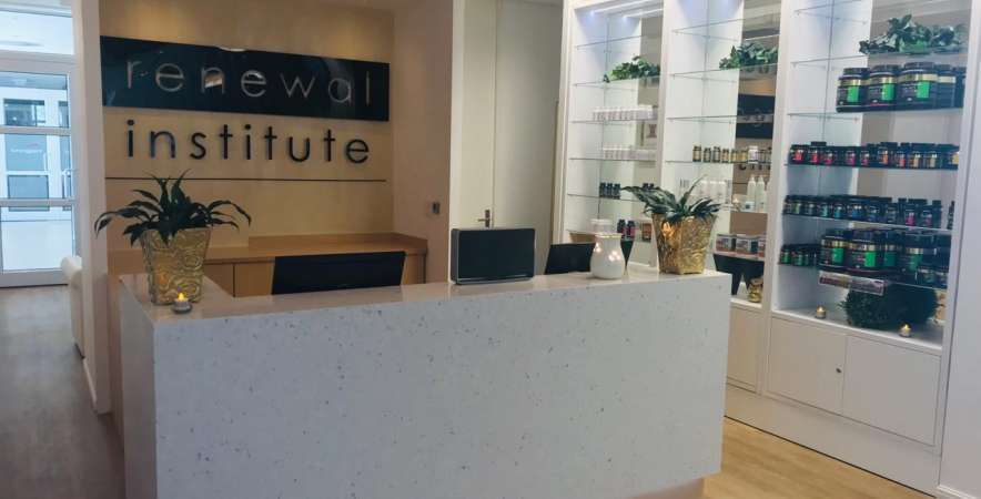 Welcome to Skin Renewal Paarl's reception area